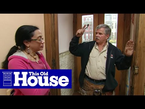 How to Weatherstrip an Exterior Door - This Old House