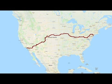 California to New York: A Complete Road Trip