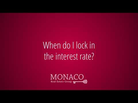 When Do I Need to Lock In Interest Rates?