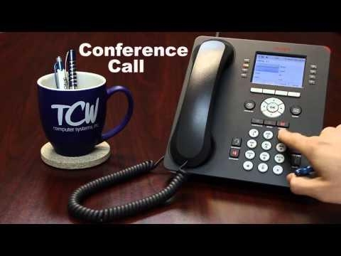 Avaya 9611G Phone Tutorial