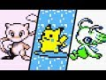 Pokémon Generation 1 & 2 - All Mythical Pokémon Events