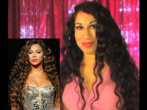♥ HOW TO: Get Beyonce Wavy Hair Tutorial Mermaid Hair Instant beach waves