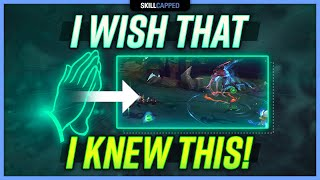 The 3 Things I WISH I KNEW As a JUNGLER! - Jungle Guide