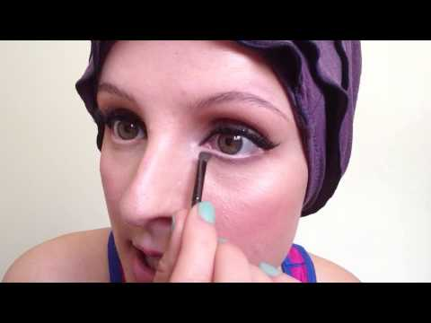 How to recreate bottom eyelashes with makeup (if you haven't got any)