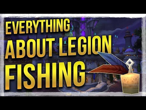 WoW Legion: How to level Fishing - Pets/Mounts & More! Fishing Guide