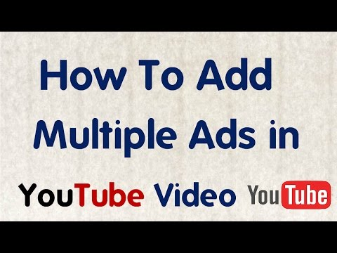 [Hindi/Urdu] How to Add Multiple ads in Youtube Videos For Free ||Technical Technical