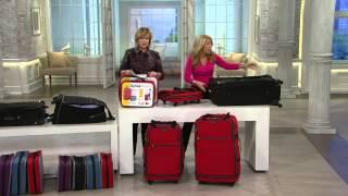 "Biaggi Zip Sak 27"" Foldable Luggage by Lori Greiner with Carolyn Gracie"