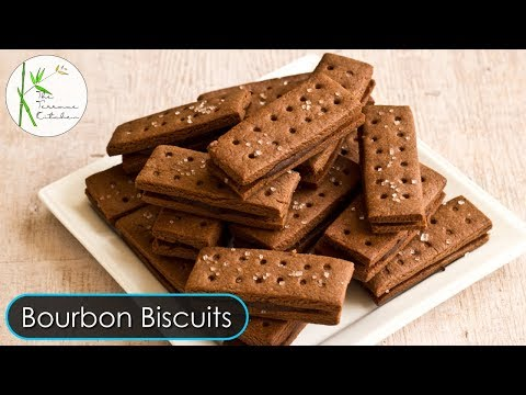 Chocolate Cream Biscuit Recipe| Bourbon Biscuit | Homemade Chocolate Biscuit ~ The Terrace Kitchen