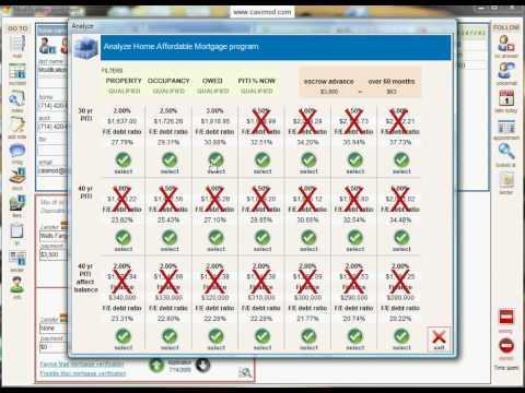 Loan Modification Software | Home Affordable Analyzer | Casi Mod | Loan Mod Software