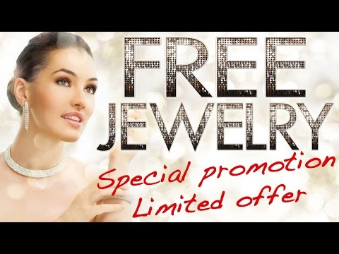 FREE Jewelry! Special promotion limited offer