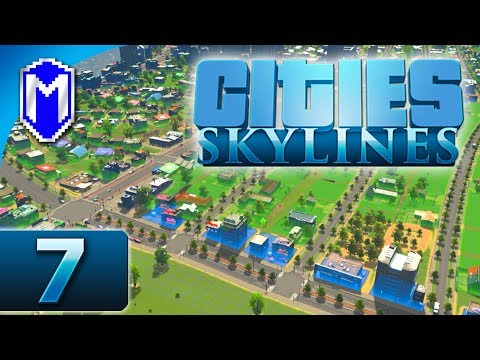 Cities Skylines - Farms And Expanding The Suburbs - Let's Play Cities Skylines Gameplay Part 7