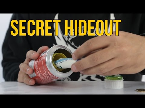 How to Make a Secret Hideout