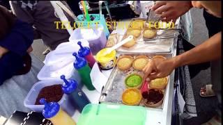 Kue Bandung Mini Pasar Tiban ( little Bandung cake ) - 001 Indonesian Pekalongan Street Food