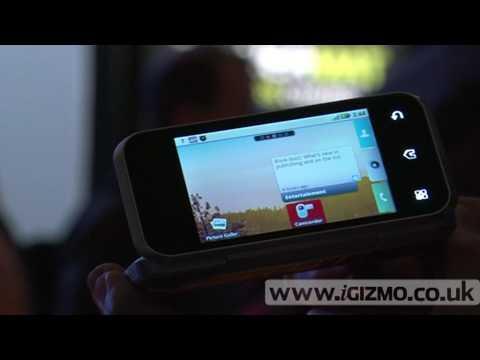 Motorola Backflip hands-on at CES 2010