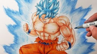 Yair Sasson Art Drawing Goku Ui