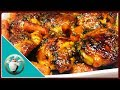 How To Make Honey Garlic Butter Chicken and Potatoes Recipe - Sticky Honey Garlic Chicken& Potatoes