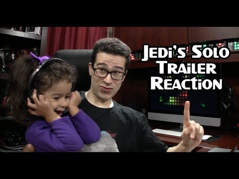 Solo Star Wars Movie Teaser Trailer Reaction