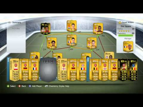 [PC] [Origin] Fifa 14 Ultimate Team Competition - Full Arsenal Team + Informs Up For Grabs