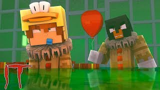 Minecraft  IT - IT THE SCARY CLOWN HAS AN EVIL PLAN TO TURN ALL THE LITTLECLUB INTO EVIL CLOWNS!!