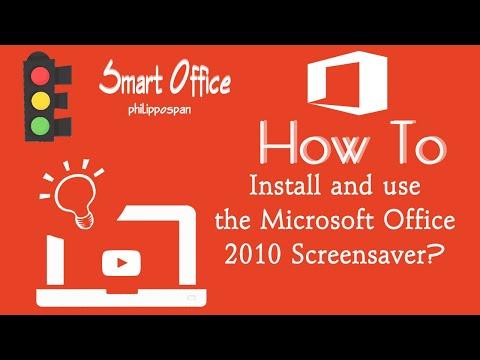 Office 2010 Screensaver.wmv