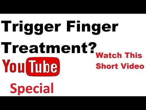 Trigger Finger Treatment Trigger Thumb