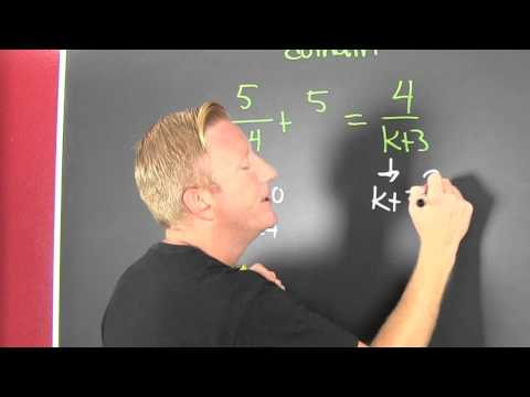 Find the Domain of a Rational Equation
