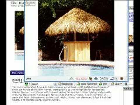 Tiki Hut -Tiki Bar - Build Your Own Tiki Bar