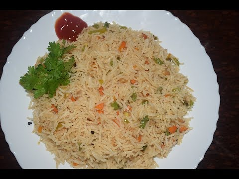 Veg Fried Rice Recipe in Malayalam | How to make Vegetable Fried Rice | Restaurant Style Chinese Veg