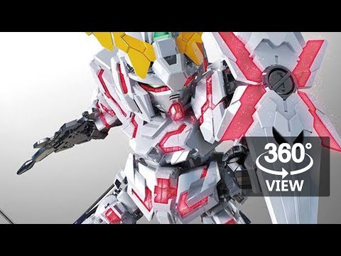 [360°Degree] SDEX Unicorn Gundam