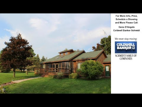 68 Phoxy Lane, Indian River, MI Presented by Geno D'Angelo.