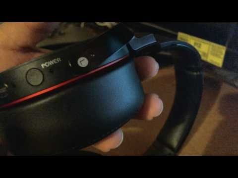 how to pair SONY MDR-XB950BT bluetooth headset to Iphone 5