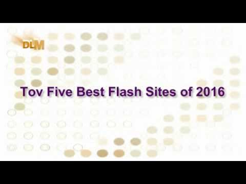 Top Five Best Flash Sites of 2016