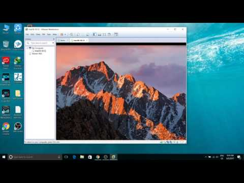 How to install Mac Os X sierra on Windows 10 Pc using VMWare in Hindi
