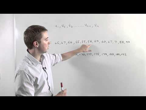 How To Work Out A Median Value