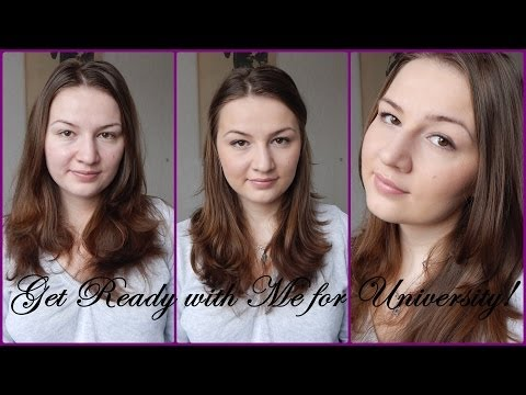 Get Ready with Me for University // Easy Everyday Makeup