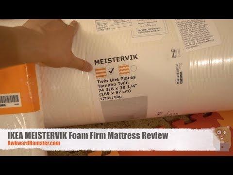 IKEA MEISTERVIK Foam Firm Mattress Review