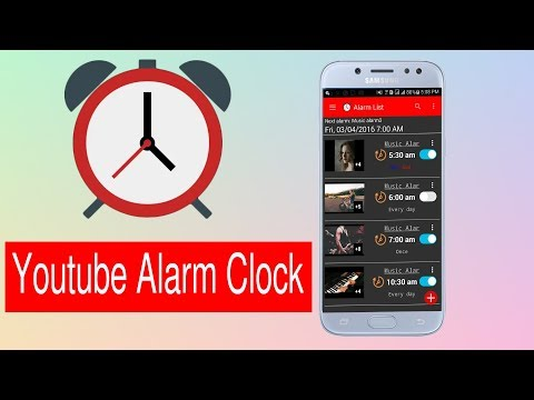 How To Use  Any Youtube Video As Alarm Clock Youtube Alarm Clock Alarm Tube