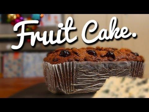 Auntie Joy's Christmas Fruit Cake - Crumbs
