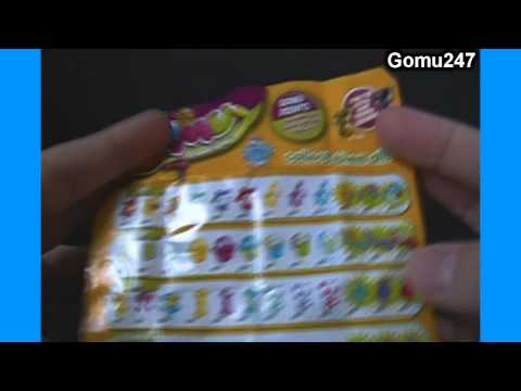 Unboxing 2 6-packs of Series 2 Gomu Collectible Erasers Opening & Review