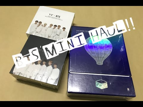 UNBOXING | BTS MINI HAUL