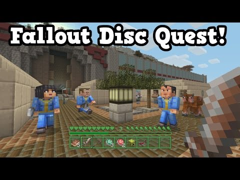 Minecraft FALLOUT MASHUP PACK Music Discs!