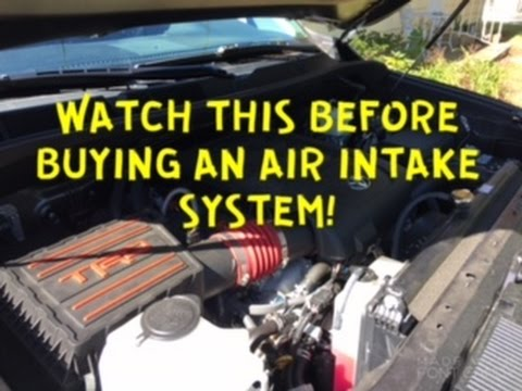 Let Me Save You Some Money Before You Buy A Toyota Tundra Air Intake System