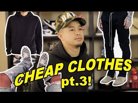 CHEAP ALTERNATIVES TO EXPENSIVE TRENDY CLOTHING PT. 3