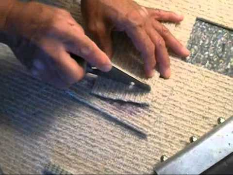 How To Cut Out An Ink Stain In Carpet And Invisibly Patch It