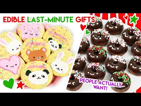 Last-Minute DIY Kawaii Edible Holiday Gifts People ACTUALLY Want (Cake Mix Hacks!)