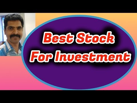 Best Stocks for Investment - Investment Tips and idea