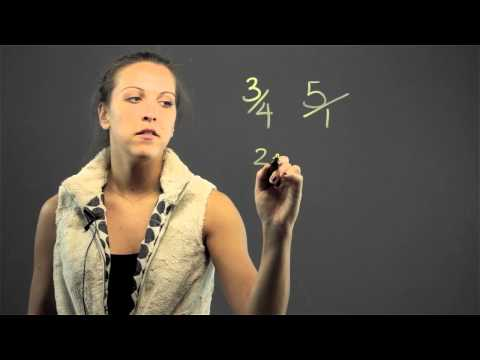 How to Find the Common Denominator With One Fraction & One Whole Number : Math Lessons & Tips