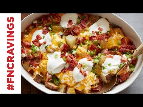 Loaded Baked Potato Casserole | Food Network