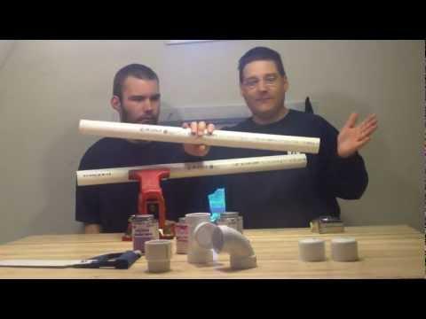 Tutorial - How To Measure & Cut PVC Plumbing Pipe