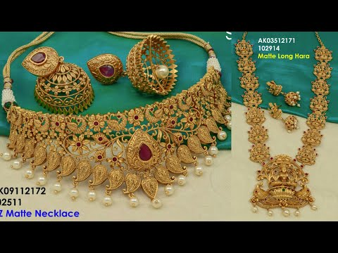 New Arrivals 1 gram gold jewelry with price || WhatsApp:91-8124229558